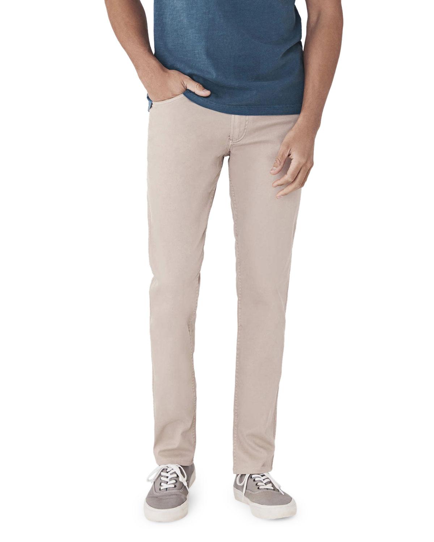 Men's Comfort Twill Five-Pocket Pants