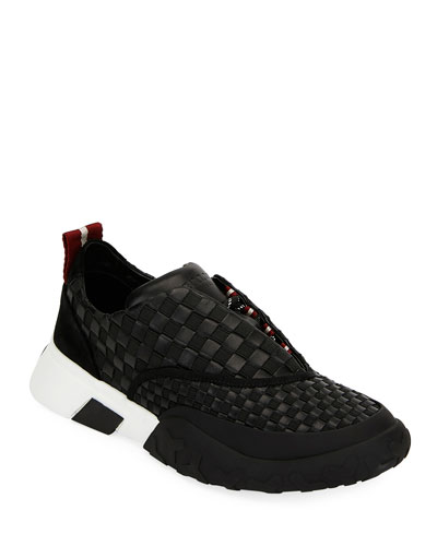 Men's Geck Checkerboard Runner Sneakers