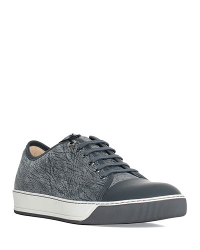 b9092770e2ba Quick Look. Lanvin · Men s Woodland Textured Cap-Toe Sneakers