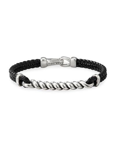 Men's Bucktwist Cable ID Bracelet