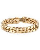 David Yurman Men's 18k Gold Curb Chain Bracelet,