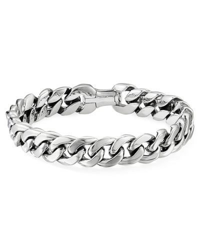 Men's Curb Chain Bracelet, 11.5mm