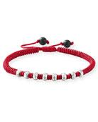 David Yurman Men's Fortune Woven Bracelet w/ Beaded