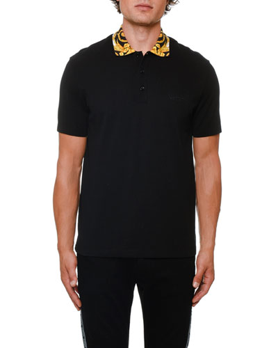 27b8ed03b7413 Contrast Polo Shirt   Neiman Marcus