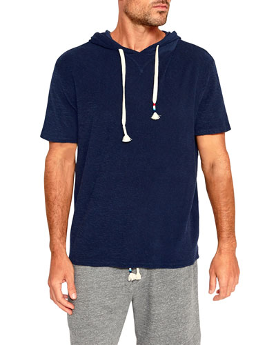 Men's Loop Terry Short-Sleeve Hoodie