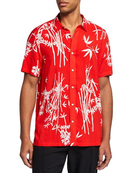 Ovadia Men's Bamboo Camp Shirt