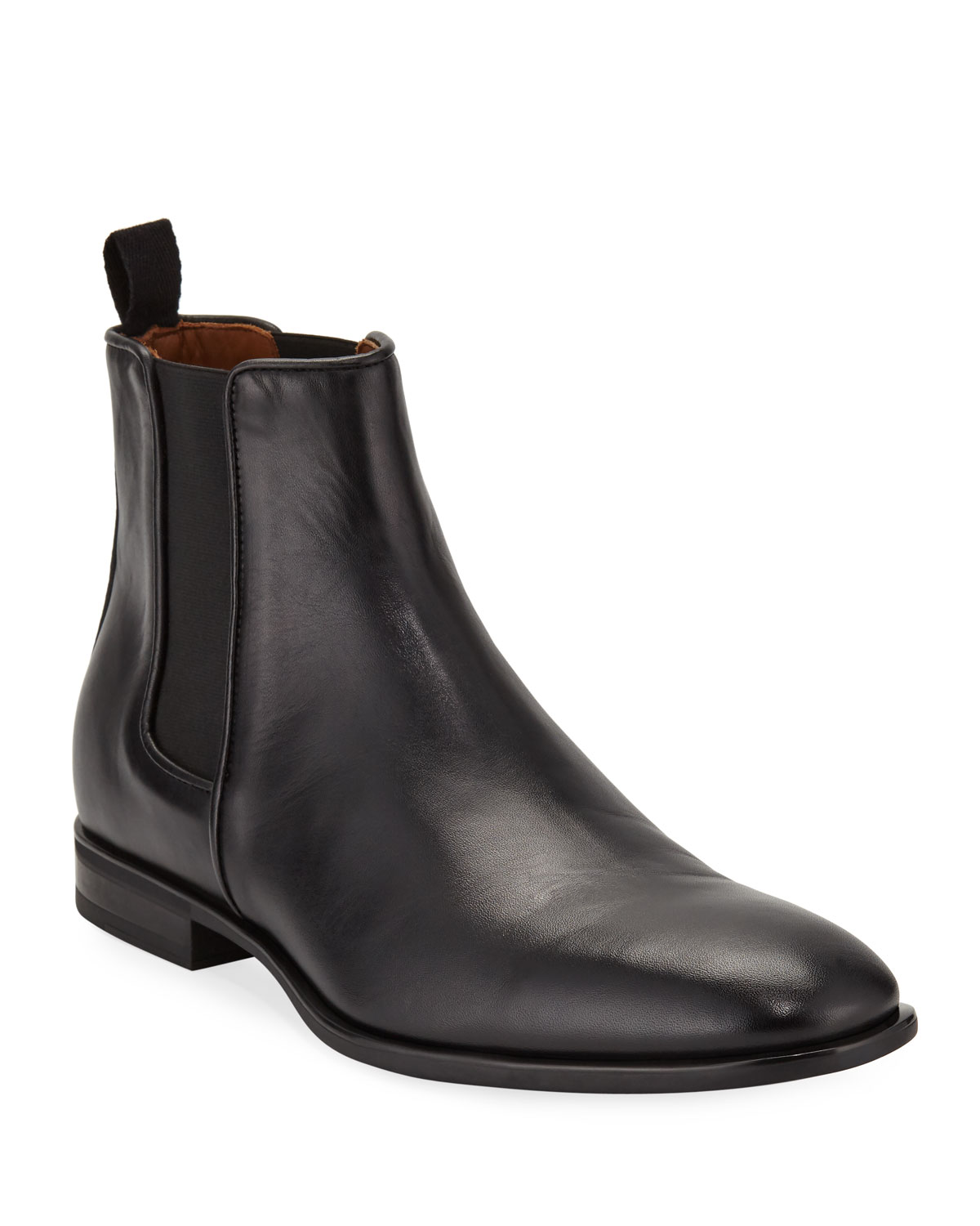 Men's Adrian Leather Dress Chelsea Boots