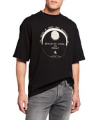 Lanvin Men's Loose-Fit Cotton T-Shirt