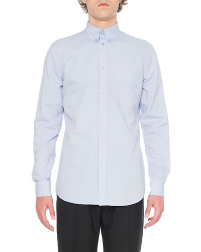 Men's Sport Shirt With Embroidery