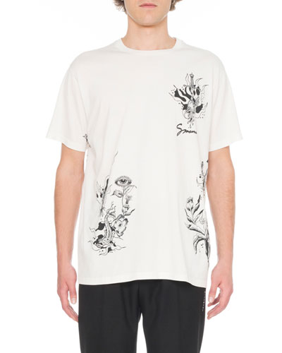Men's Dragon Print T-Shirt