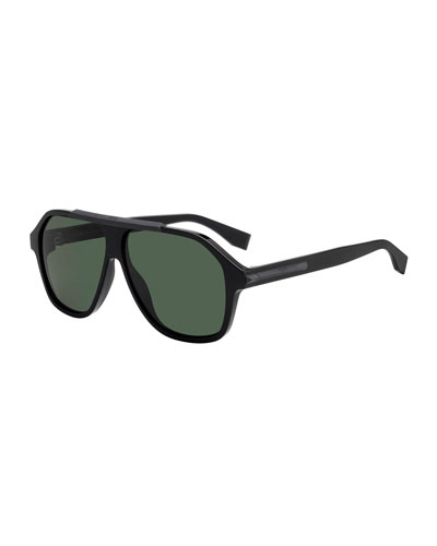 09f13a906c0 Quick Look. Fendi · Men s Plastic Square Shield Sunglasses