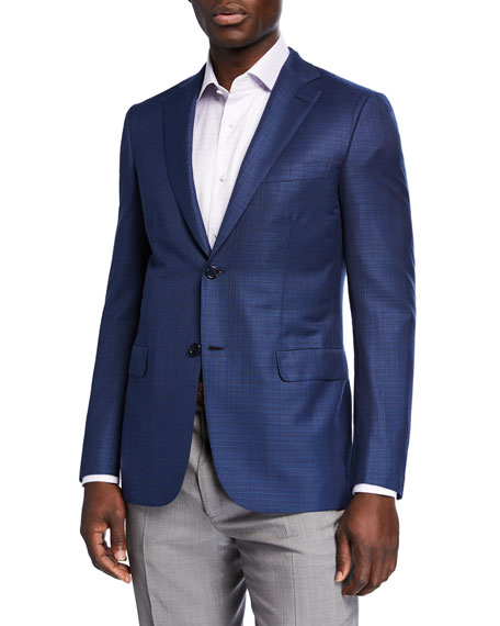 Brioni Men's Textured Wool Two-Button Jacket