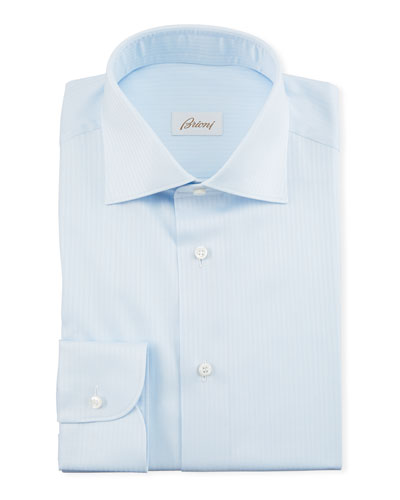 Men's Herringbone Dress Shirt