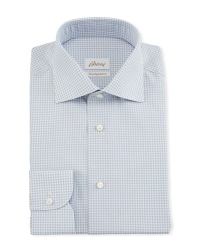 Men's Ventiquattro Gingham Dress Shirt