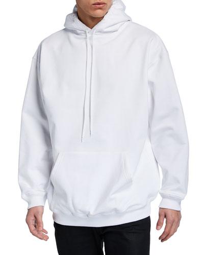 Men's Crown-Logo Back Pullover Hoodie