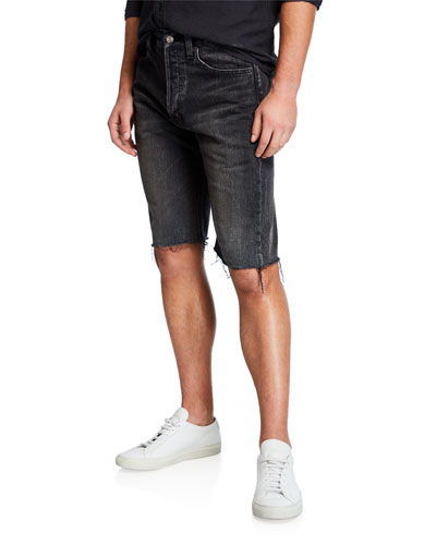 Men's Vintage Denim Cutoff Shorts