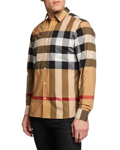 Men's Windsor Check Sport Shirt