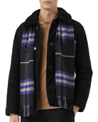 Burberry Men's Giant Check Scarf