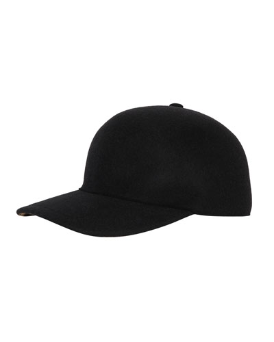 db77830022bd Quick Look. Burberry · Men s Molded Wool Baseball Cap. Available in Black