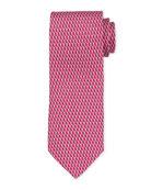Salvatore Ferragamo Bird Silk Tie