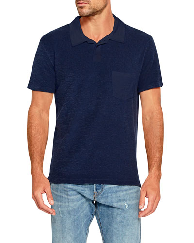 Men's Loop Terry Polo Shirt