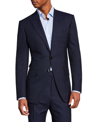 Men's O'Connor Peak-Lapel Two-Piece Suit