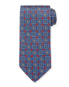 Eton Men's Silk Multi Medallion Tie