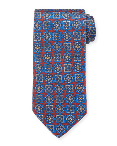 Men's Silk Multi Medallion Tie