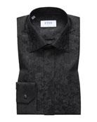 Eton Men's Slim Fit Tonal Floral Formal Dress
