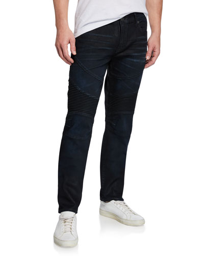 Men's Rocco Moto Boost Denim Jeans