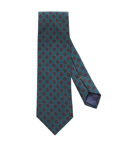 Men's Neat Medallion Tie