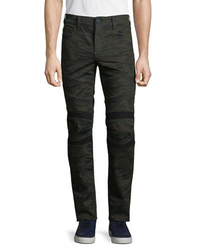 Men's Rocco Moto Cosmic Camo Skinny Pants