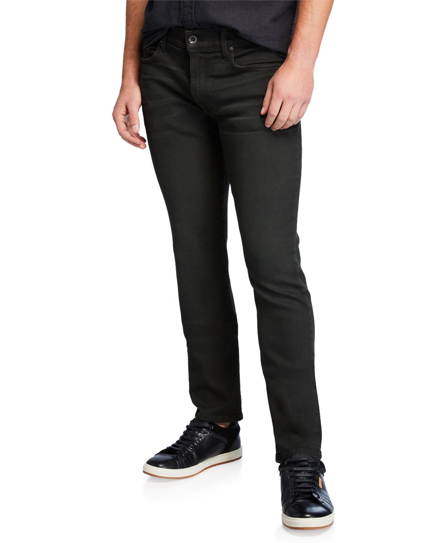 Men's The Slim Fit 3D-Whiskered Jeans
