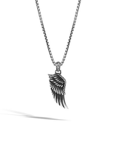 Men's Legends Eagle Silver Pendant