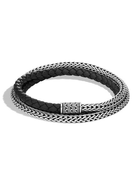John Hardy Men's Classic Chain Triple-Wrap Bracelet