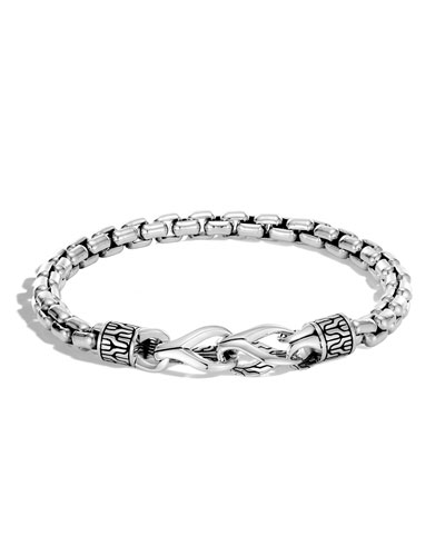 Men's Classic Chain Silver Bracelet
