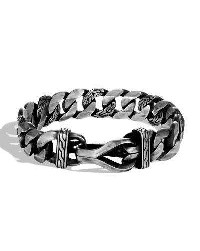 Men's Asli Classic Chain Curb-Link Bracelet