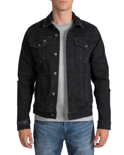 Men's Stretch Denim Jacket