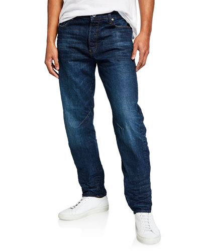 Men's Arc Relaxed-Fit Tapered Higo Denim Jeans