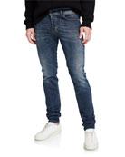 Diesel Men's Sleenker Skinny Jeans, Blue
