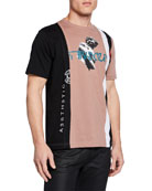 Diesel Men's Just Space Aesthetic T-Shirt