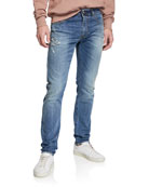 Diesel Men's Thommer Slim Fit Denim Jeans