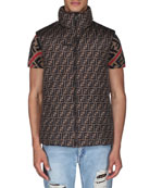 Fendi Men's Reversible Down Quilted Vest