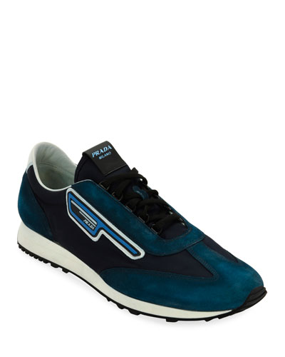 Men's   Suede Sport Sneakers