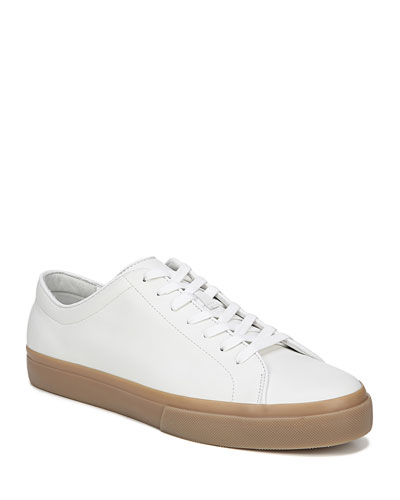 Men's Farrell Calf Leather Low-Top Sneakers