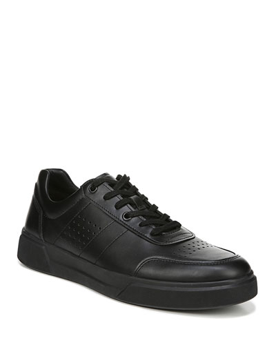Men's Barnett Ares Leather Low-Top Sneakers