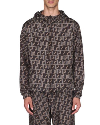 Men's Reversible FF/Pequin Wind Jacket