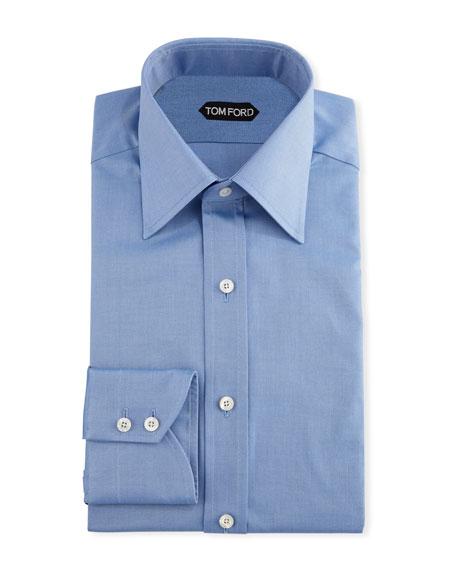 TOM FORD Men's Solid Dress Shirt