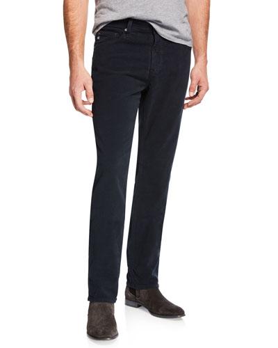 Men's Everett Slim-Straight Twill Pants, Blue