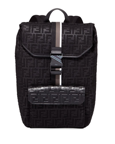 0af3c12a8405 Fendi Black Backpack